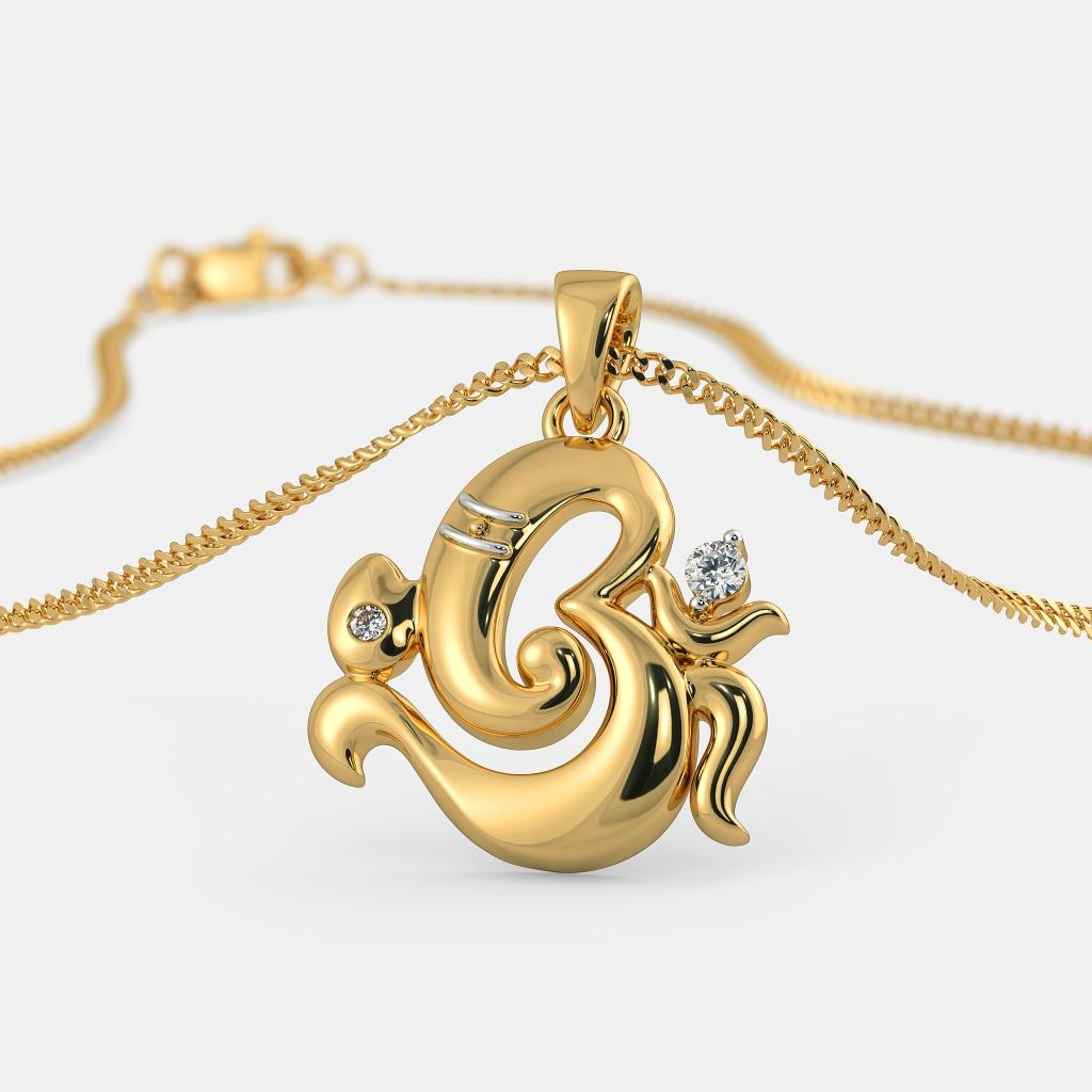the avighna pendant bluestone