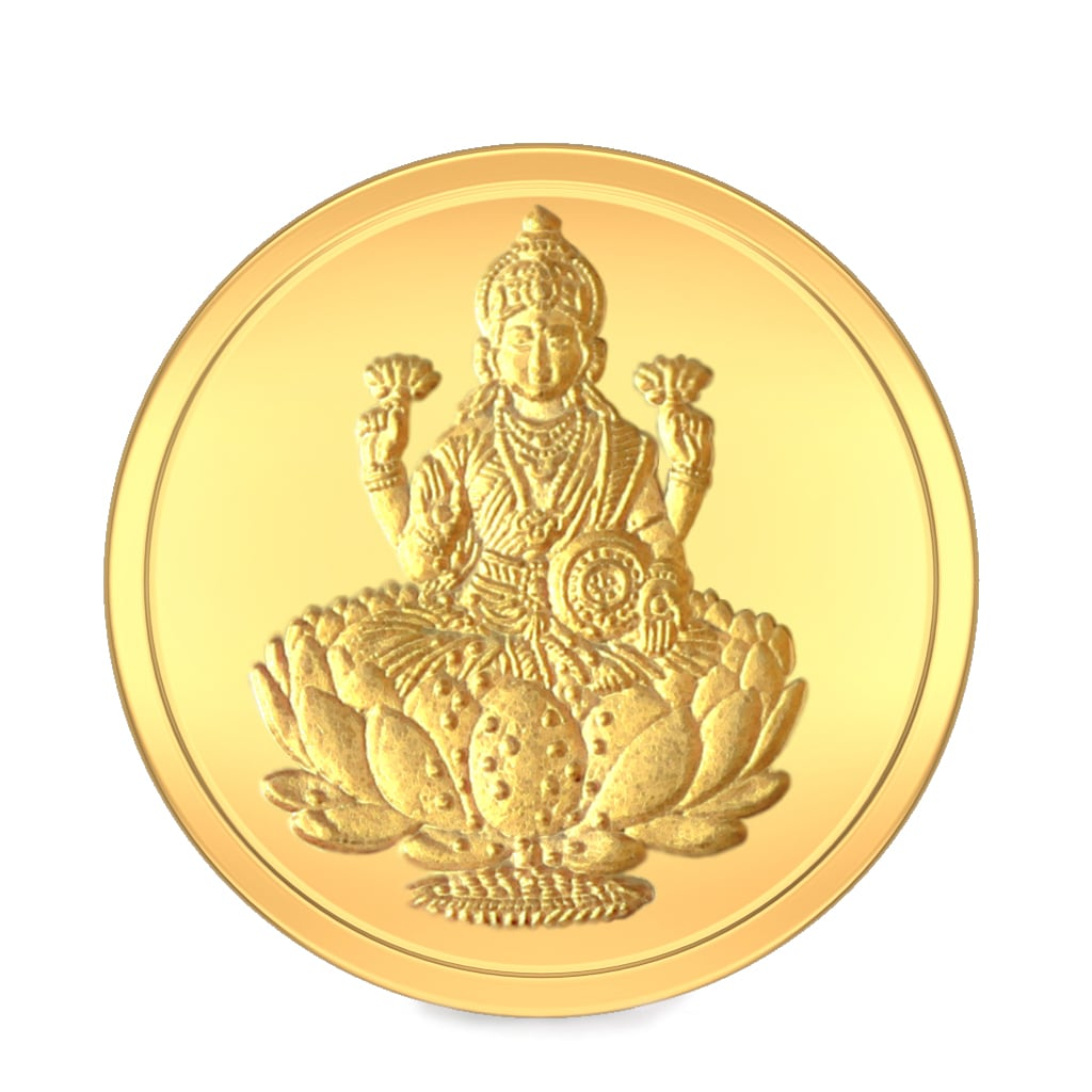 5 gm 24 kt lakshmi gold coin bluestonecom