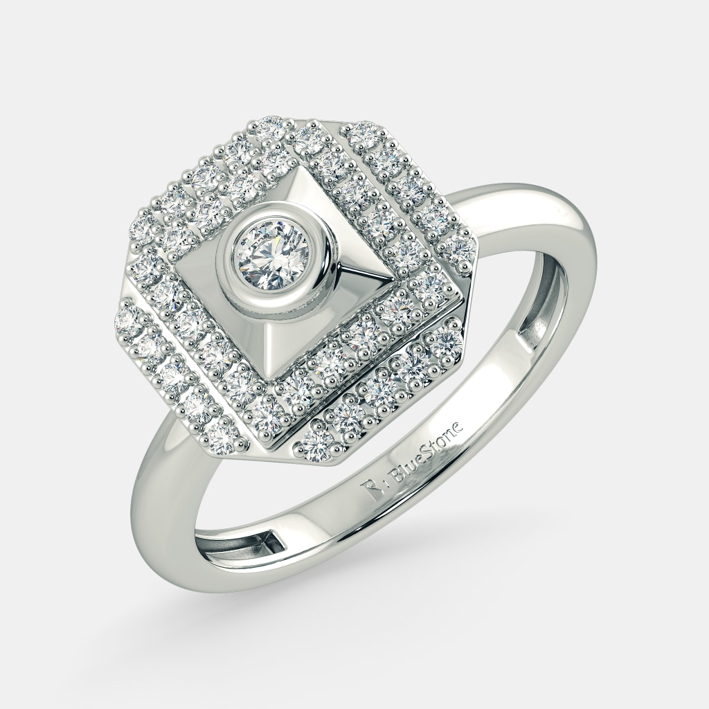Buy 100 Latest Womens White Gold Ring Designs Online in India