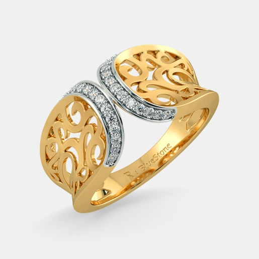 Rings Buy 1350 Ring Designs Online in India 2018 BlueStone