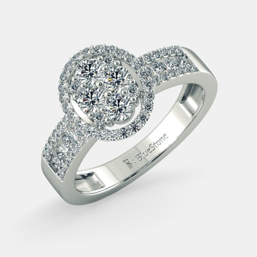 Buy 150 Gold Engagement Ring Designs Online in India 2018 BlueStone