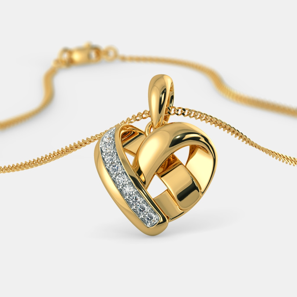 The wrapped in love pendant bluestone the wrapped in love pendant aloadofball Choice Image