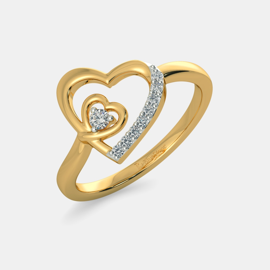 The Lovers Hearts Rings | BlueStone.com