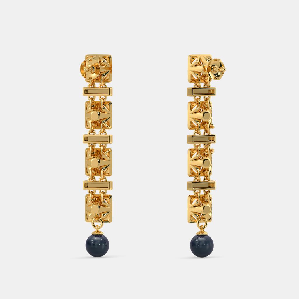 The Meticulous Long Drop Earrings