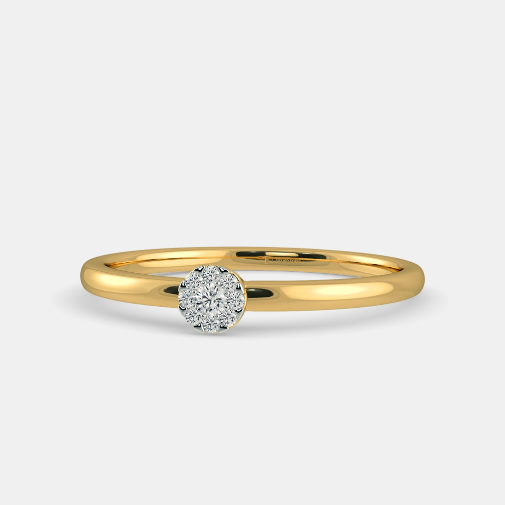 ct tw diamond composite v engagement in ring w p white gold t