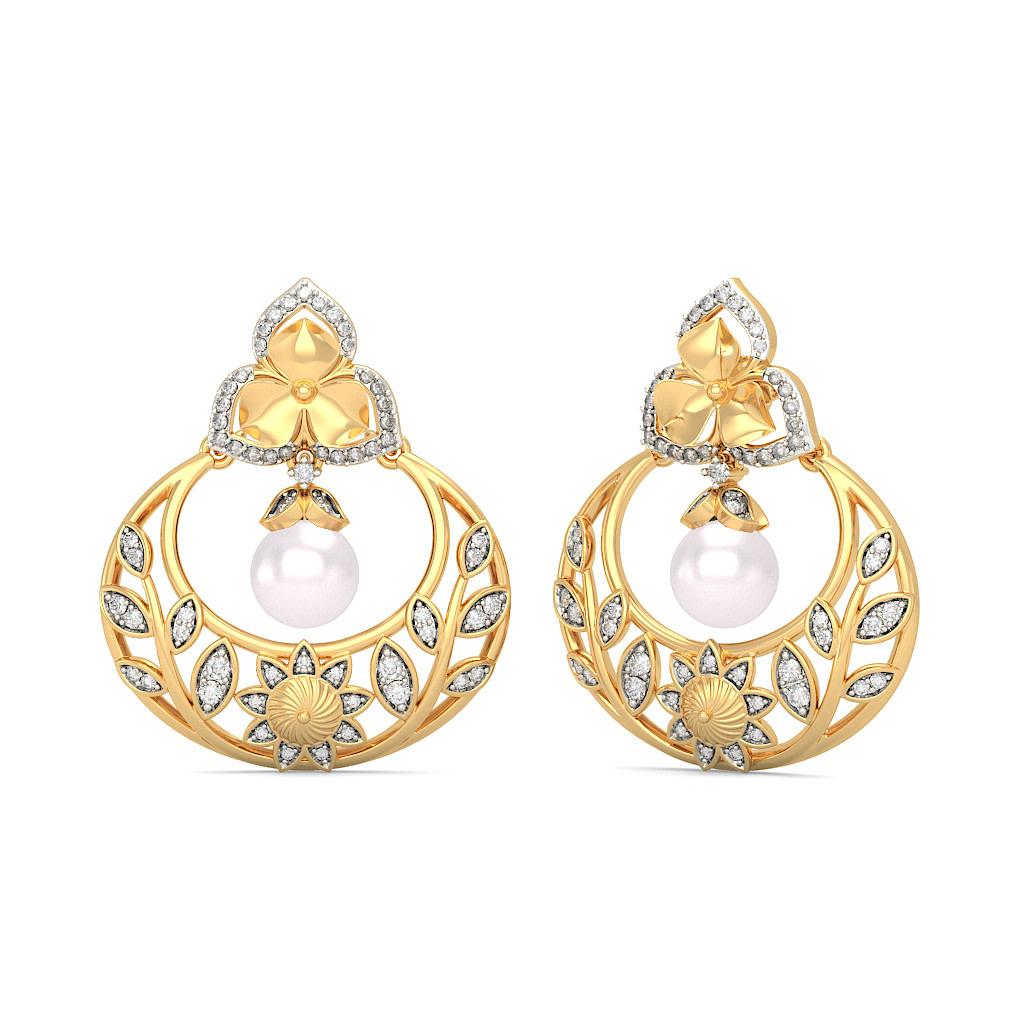 Chand Bali Earrings - Buy Chand Bali Earring Designs Online in ...