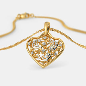 The Golden Trellis Pendant