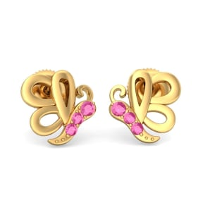 The Pretty Butterfly Earrings For Kids