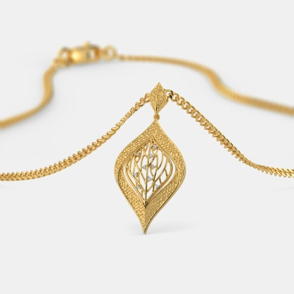 The Leaf Dew Pendant
