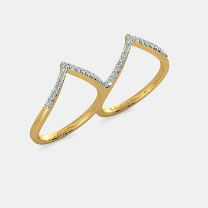 The Abbey Two Finger Ring