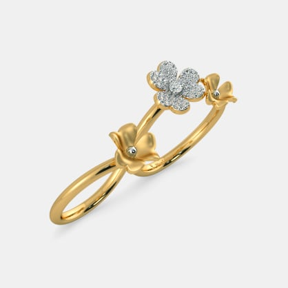 The Victoria Two Finger Ring