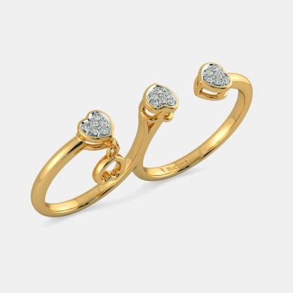 The Tessa Two Finger Ring