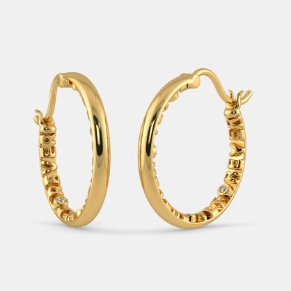 The With Love Eternity Hoop Earrings