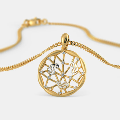 The Ivy Trellis Pendant