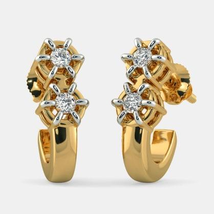 The Sangam J Hoop Earrings