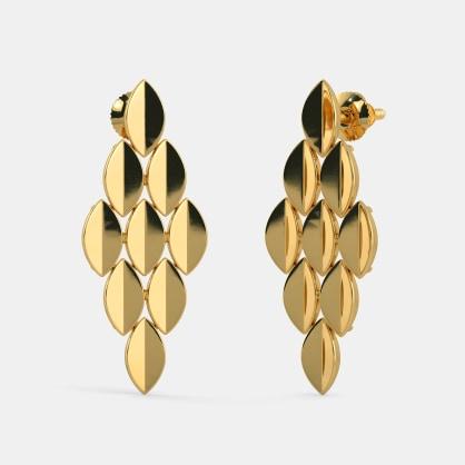The Cascading Carpel Earrings