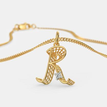 The Ravishing R Pendant