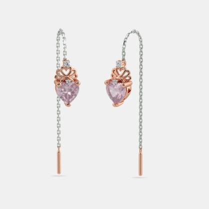 The Betty Heart Earrings