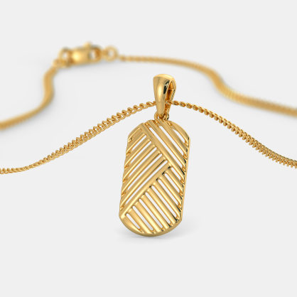 The Twill Weave Pendant