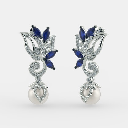 The Aaryamani Drop Earrings
