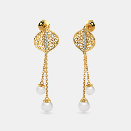 The Sheen Drop Earrings