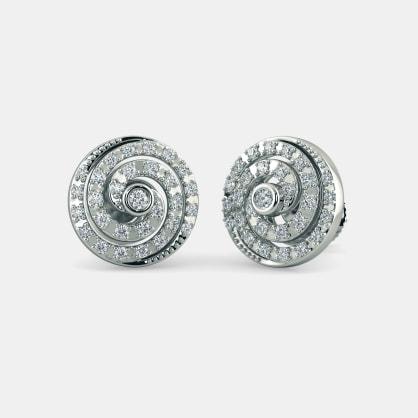 The Lady Moonlight Stud Earrings