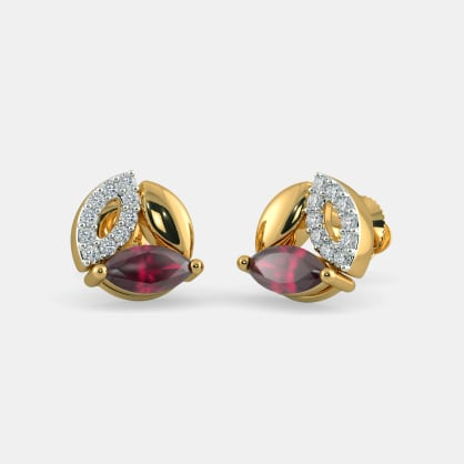 The Trivalle Stud Earrings