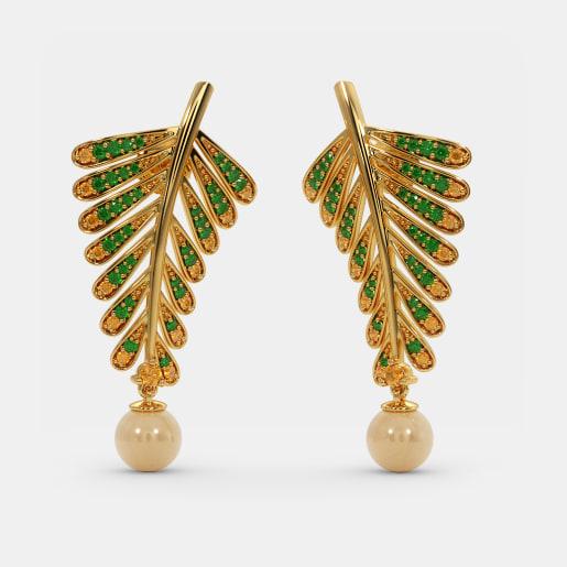 The Fern Drop Earrings