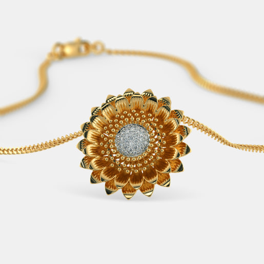 The Heavenly Sunflower Pendant