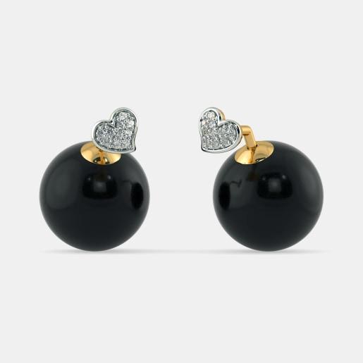 The Zoya Onyx Earrings