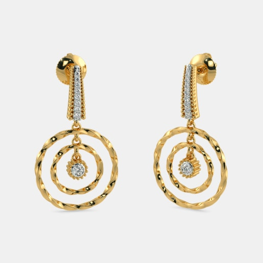 The Barrie circle Drop Earrings