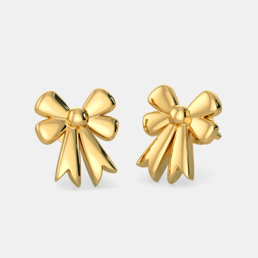 The Lovely Bow Earrings For Kids