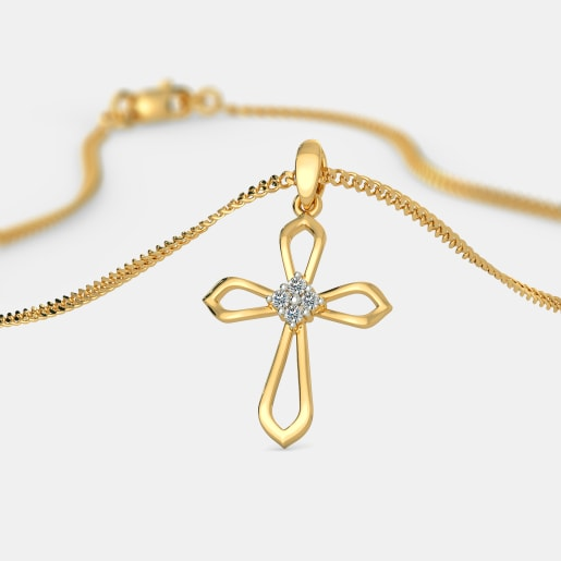 The Angea Cross Pendant