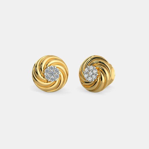 The Octavia Stud Earrings