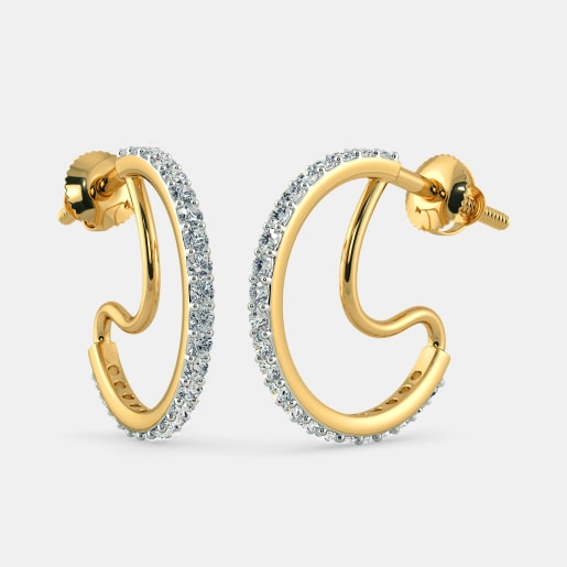 The Raun Hoop Earrings