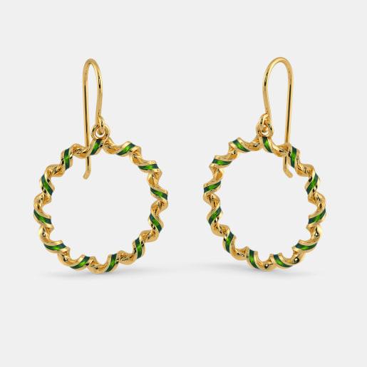 The Swirl Surprise Earrings