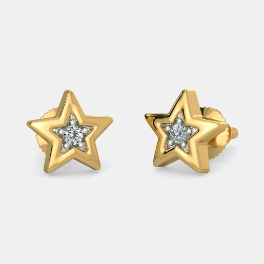 The Wishing Star Earrings For Kids