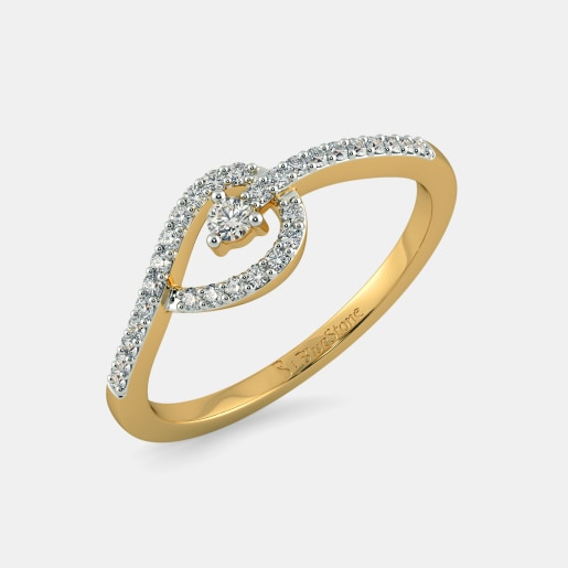 Buy 50 Light Weight Rings Jewellery Designs line in India 2018