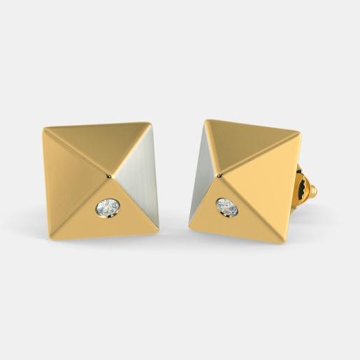 The Pyramid Earrings