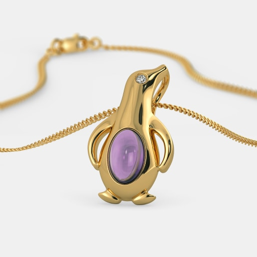 The Dawdling Penguin Pendant For Kids