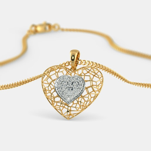 Buy 600 womens diamond pendant designs online in india 2018 the desire pendant aloadofball Choice Image
