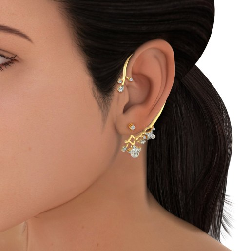 The Laleh Ear Wraps