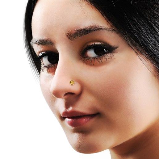 The Primrose Nose Pin