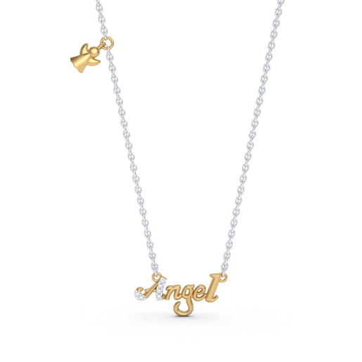 The Angel Script Necklace