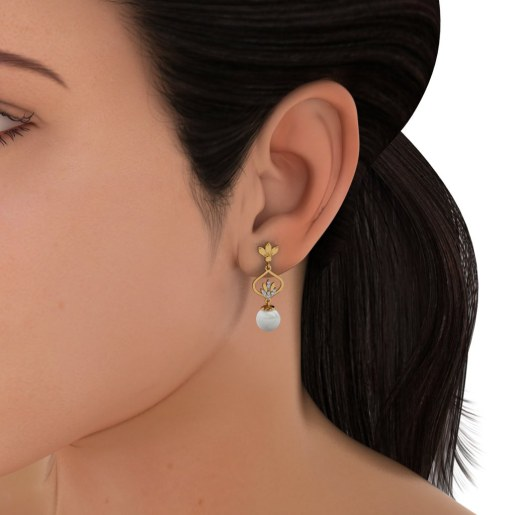 The Blossoming Epitome Earrings