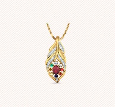 The Mayur Priya Pendant